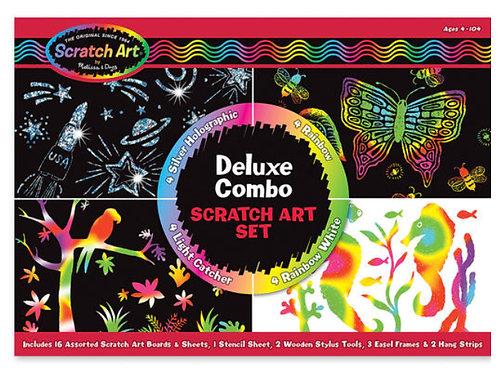 Melissa Craft - Deluxe scratch art set
