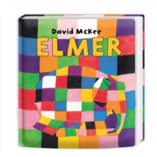 Children Book - Elmer board book