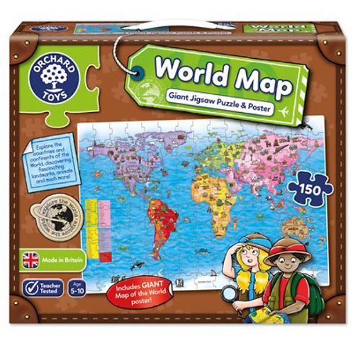 Orchard Jigsaw - World Map