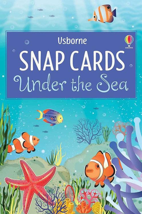 Under the sea snap cards usborne