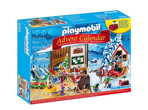 Playmobil - Advent Calendar Santa workshop
