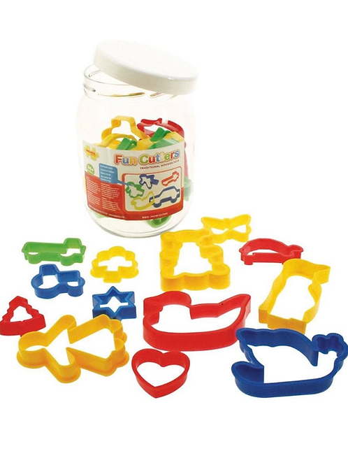 Bigjigs Toys - Jar of Pastry Cutters