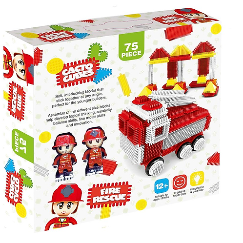 Cacto Cubes- Fire and rescue 75 pc