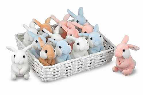 Small plush bunnies melissa and doug