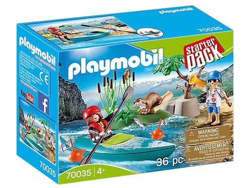Kayak adventure toy playmobil