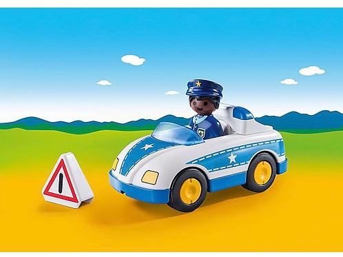 Police car toy figure playmobil