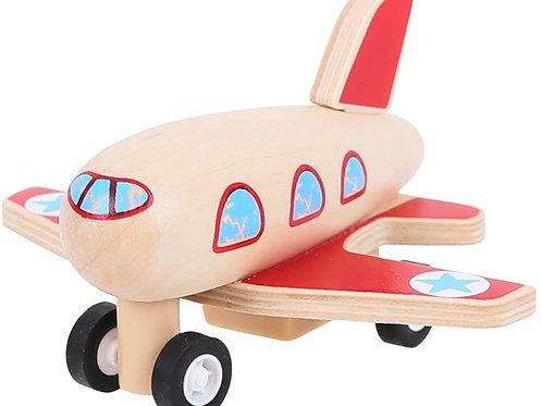Bigjigs Toys - Pull Back Plane