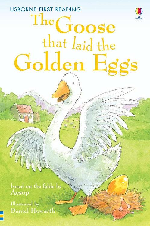 Usborne - The goose that laid the golden eggs