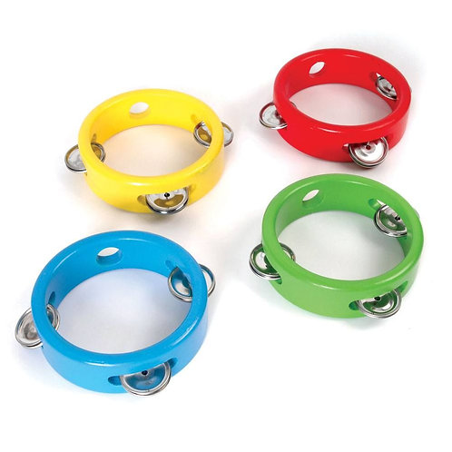 Bigjigs musical instrument tambourine shaker