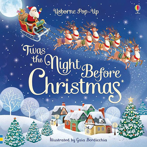 Usborne - Pop-up Twas' the night before Christmas