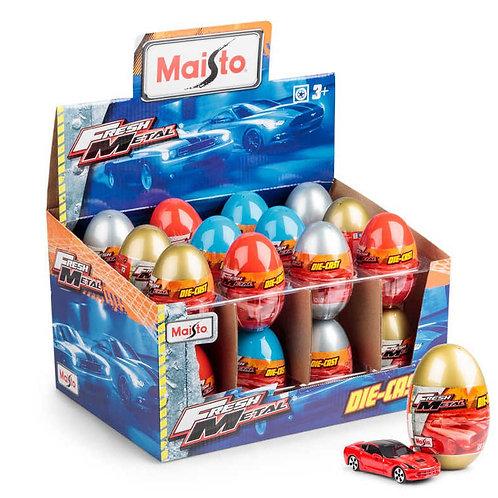 Tobar metal car eggs toy