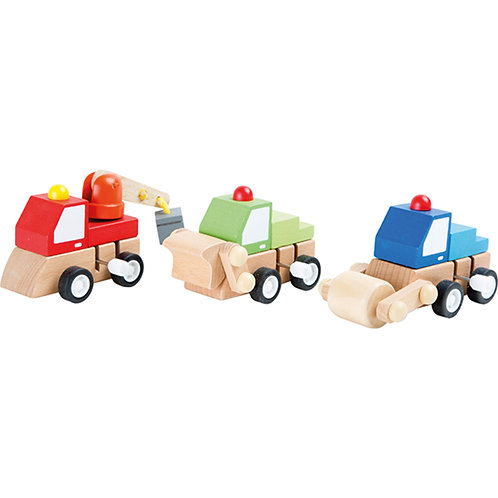 Smallfoot - Wind-up Construction vehicle (each)