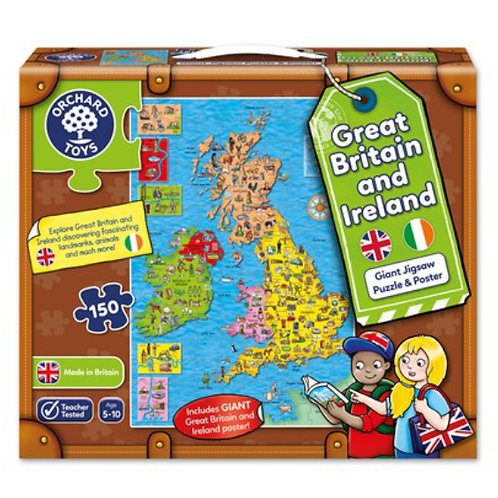 Orchard Jigsaw - Great Britain and Ireland