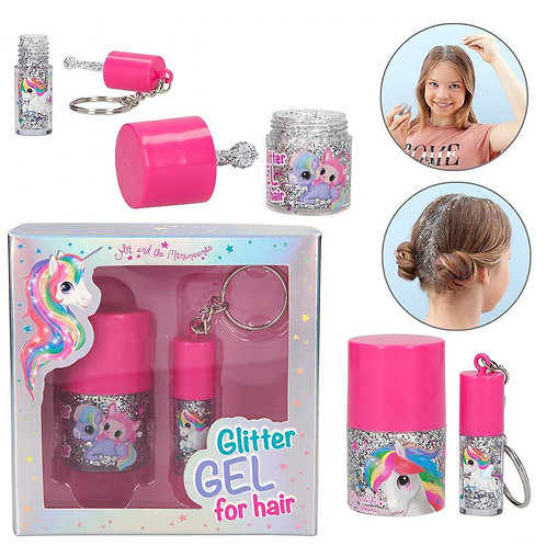 Depesche Ylvi and the Minimoomis - Glitter gel for hair