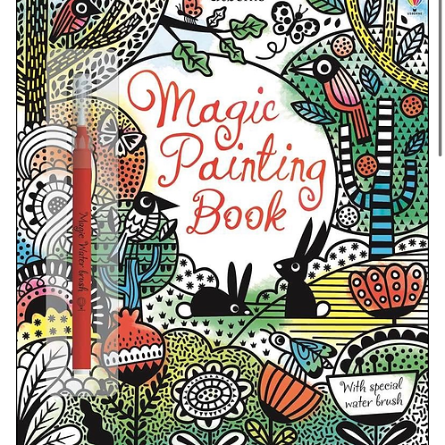 Magic water painting book usborne for kids