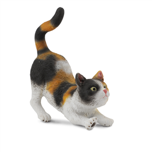 CollectA - 3 colour house cat stretching