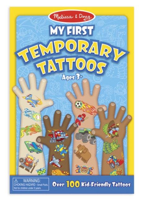 Melissa - Temporary tatoos Boys