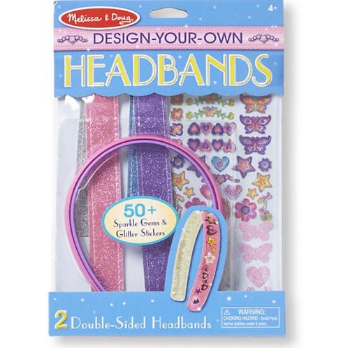 Make your own headbands kids craft set melissa