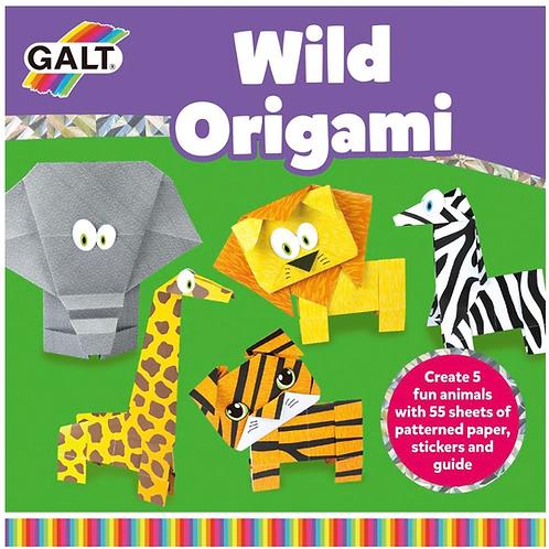 Wild animals origami set for kids galt