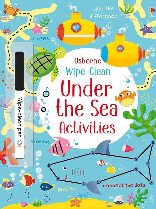 Under the sea wipe and clean book