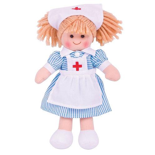 Bigjigs rag doll nurse