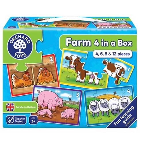 Orchard Jigsaw - Farm Four in a Box