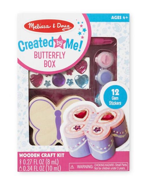 DIY butterfly box craft set