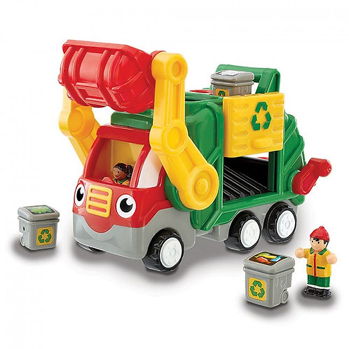Wow toy flip n tip garbage truck
