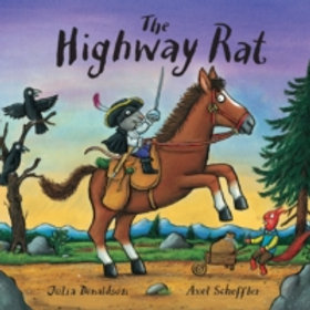 Children Book - Highway Rat paperback book