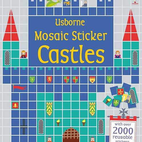 Usborne - Mosaic sticker castles
