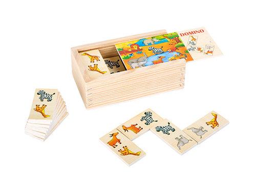 Small Foot Games - Safari dominoes