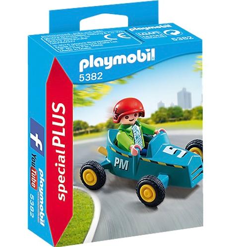 Go kart boy toy figure playmobil