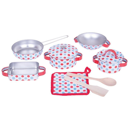 Bigjigs play kitchenware toy