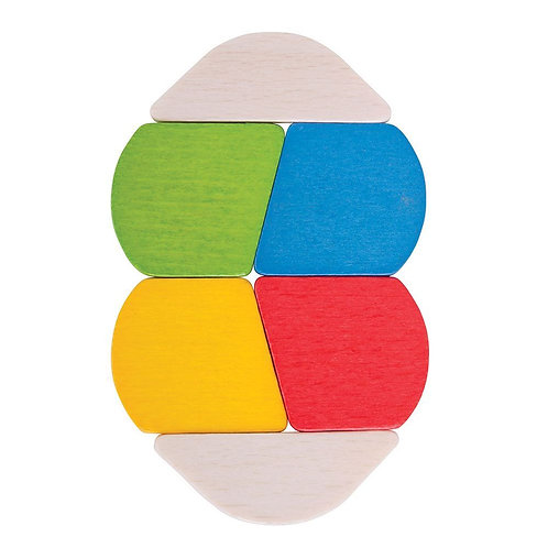 Bigjigs baby wooden toy twister