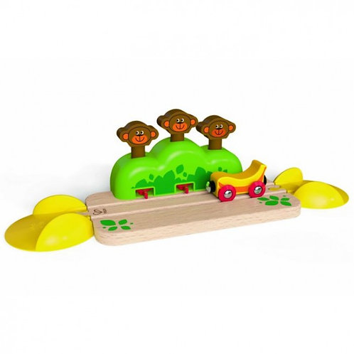 Hape - Monkey pop up track