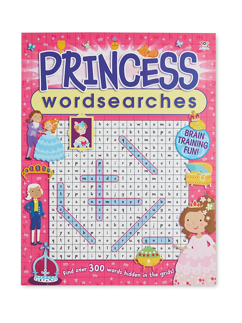 Wordsearch princess book
