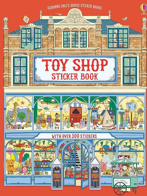 Usborne - Doll's house sticker book toyshop