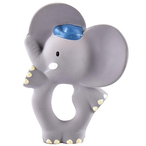 Tikiri baby rubber elephant teether toy