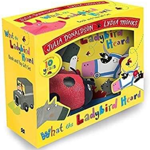 Book and Character - What the Ladybird Heard