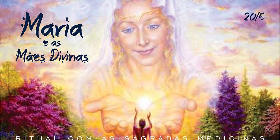 Maria e as Mães Divinas - Ritual com Ayahuasca, Rapé e Sananga
