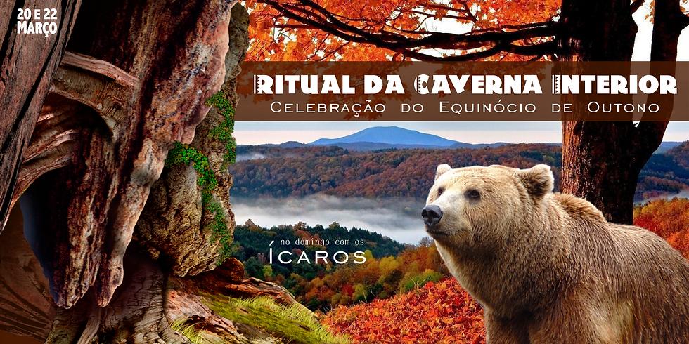 Ritual Caverna Interior com banda Ícaros