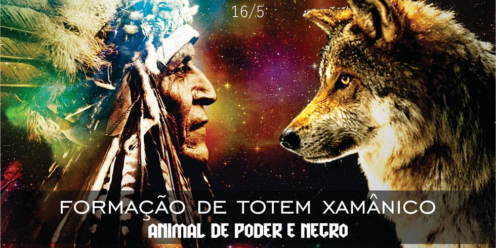 Formação de Totem Xamânico - Animal de Poder e Negro