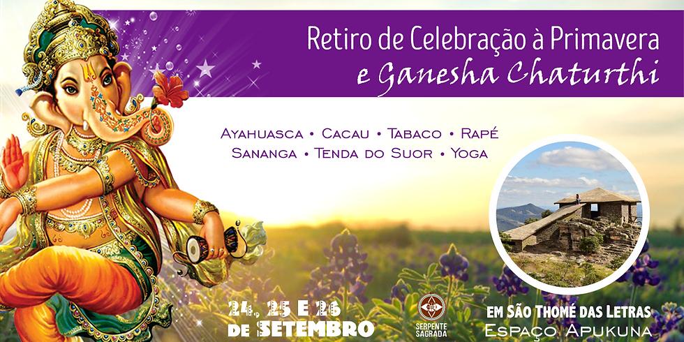 Retiro de Celebração à Primavera e Ganesha Chaturthi