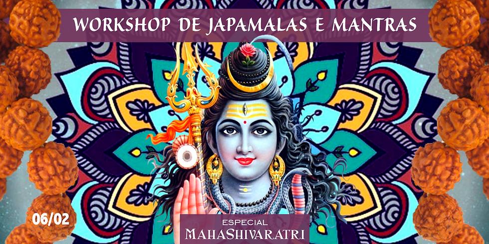 Workshop de Japamala e Mantras - Mahashivaratri