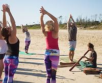 Beach Sound Healing Yoga, Byron Bay