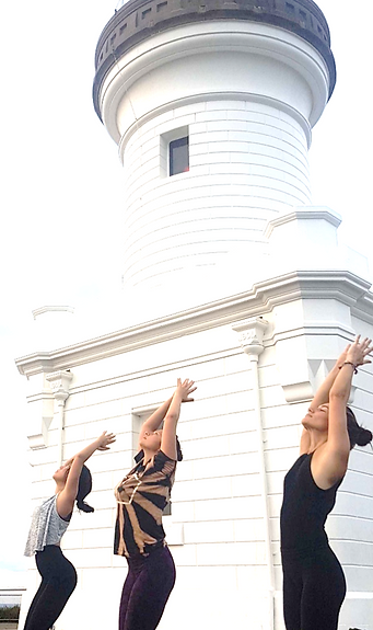 Byron Bay Lighthouse Yoga