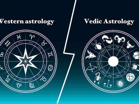 Difference Between Vedic And Western Astrology.