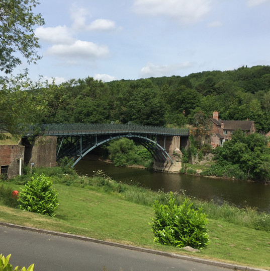Did you know: Iron goods from the Ironbridge Gorge were taken down the River Severn to be sold all over the world.