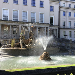 Did you know...the Neptune Fountain in Cheltenham is based on the Trevi Fountain in Rome?