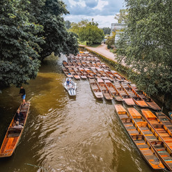 Did you know...Oxford students punt from a different end of the boat to their counterparts in Cambridge.